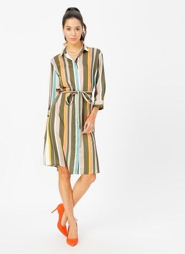 Fabrika Comfort Elbise Haki